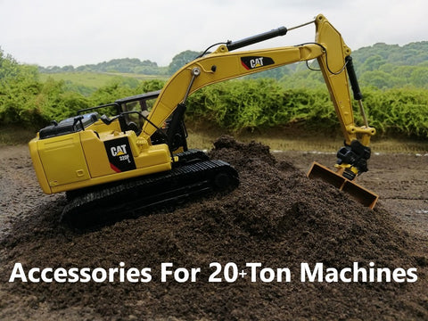1:50 Scale Accessories for 20+ Ton Excavators