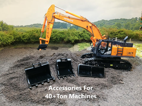Accessories for 40+ Ton 1:50 Scale Machines