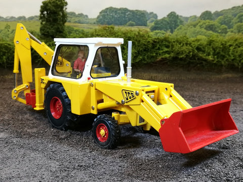 Cimodels JCB 3C Front bucket for Britains farm model digger