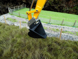 Cimodels V Bucket for Ros Hitachi, New Holland, Joal Britains JCBJS330 220X 1:32 Scale model excavators