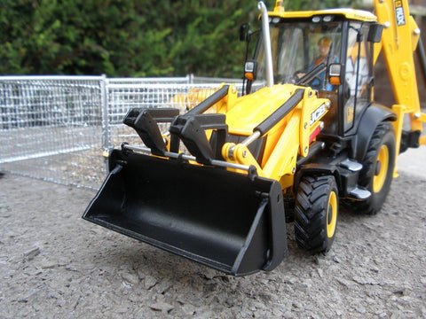 Cimodels 4 in 1 Bucket set for Britains JCB 3CX excavator digger