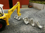 Cimodels bucket set for Britains JCB 3C excavator digger