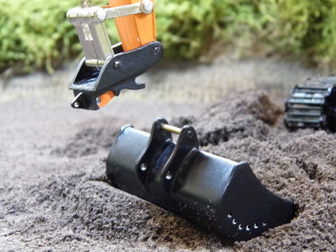 Cimodels quick hitch for Ros Hitachi and New Holland 1:32 scale model excavators