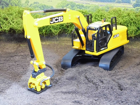 Cimodels Large Compactor plate for Joal Britains JCB Ros Hitachi 1:32 scale model excavator