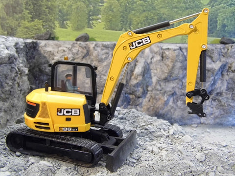 Cimodels 1:32 Scale QH01 Hitch for JCB3CX, 86C1, Hydradig