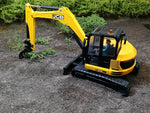 Cimodels rake for JCB 3CX 86C1 8060 and Hydradig excavator digger