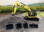 Cimodels 1:50 scale 30 Ton bucket set to fit Diecast Masters Cat 335F Excavator