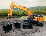 Cimodels 1:50 scale 40 Ton bucket set for Diecast Masters Cat and TMC Hitachi excavators