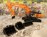 Cimodels 1:50 scale Hitachi models 40 Ton bucket set for Diecast Masters Cat and TMC Hitachi excavators