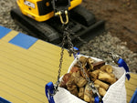 Cimodels Brass Shackle Diecast Masters Cat and TMC Hitachi scale model excavator