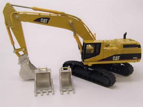 Cimodels 1:50 scale hitch and buckets to suit the Norscot Cat 365B excavator digger bagger pelle