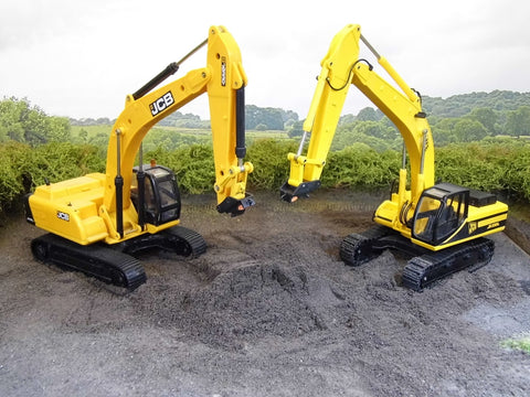 Cimodels quick hitch for Britains and Joal JCB JS330 1:32 scale model excavators