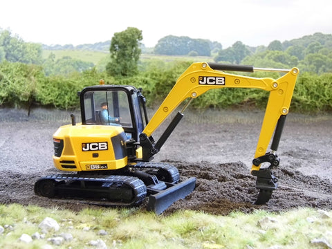 Cimodels ripper for JCB 3CX 86C1 8060 and Hydradig excavator digger