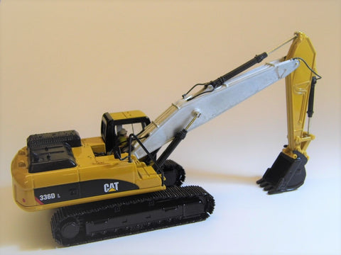 Cimodels straight boom for 1:50 scale Cat 330D, Cat 336D and Cat 336E Norscot, Diecast Masters excavator models C Irwin Models