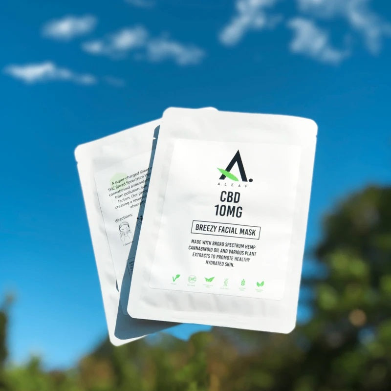 CBD Infused Facial Masks Pack a Hydrating Punch!