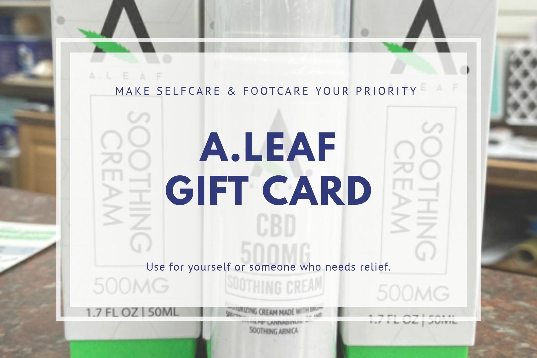 Selfcare & Footcare Gift Card