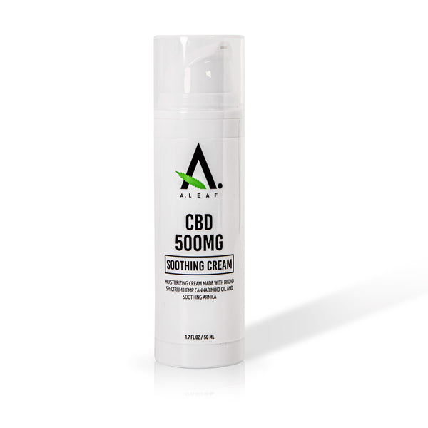 best cbd cream - a.leaf
