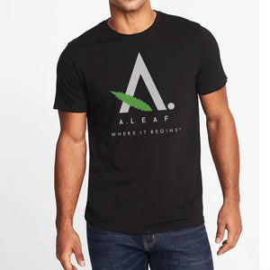 A.LEAF short sleeve CBD t-shirt