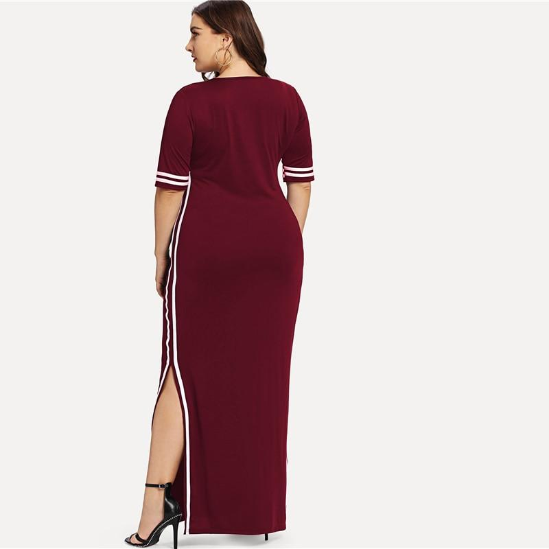 Side Stripes Dress