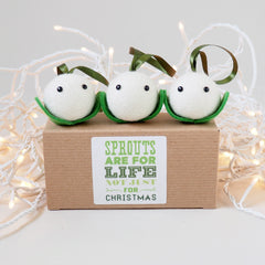 Mistletoe Tree Decoration - Set of 3