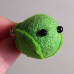 Christmas Sprout Brooch