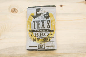Tex's Tangy BBQ Beef Jerky