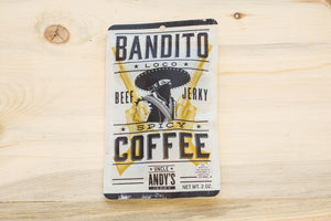 Bandito Loco's Spicy Coffee Beef Jerky