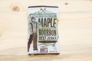 Lumberjack Maple Bourbon Beef Jerky