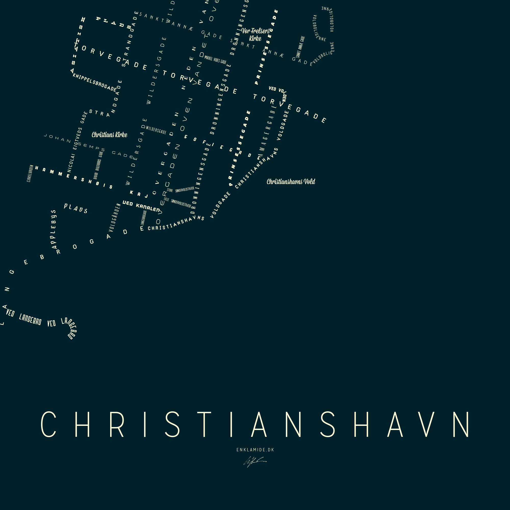 Christianshavn III - Nat