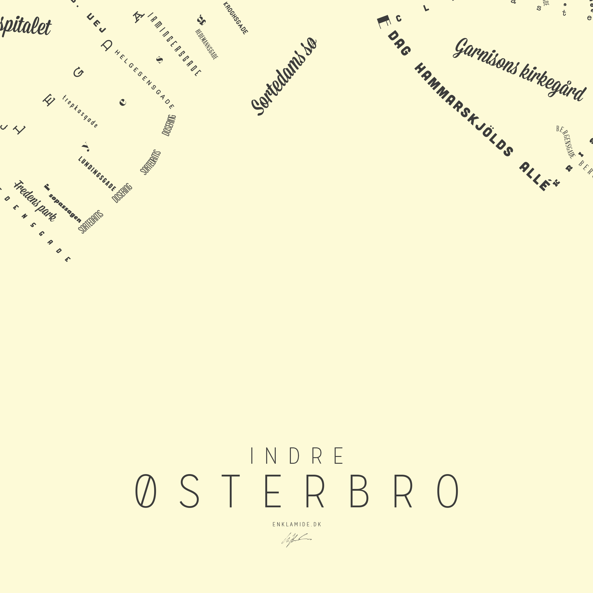 Indre Østerbro III - Creme