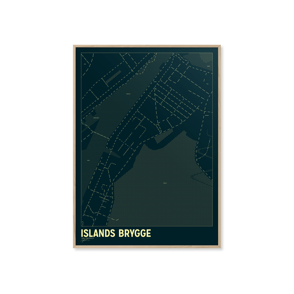Islands Brygge - Petroleum