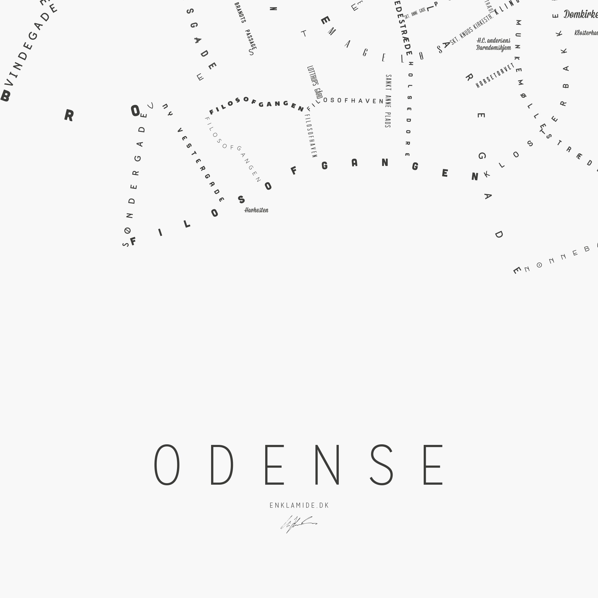 Odense III - Hvid