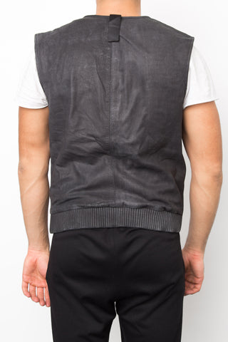 Enzyme Leather Gillet