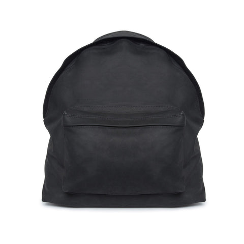Matt Leather Backpack