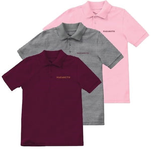 NAZARETH SHORT SLEEVE POLO SHIRTS