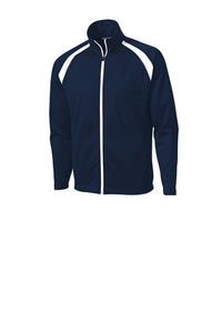 CSA TRACK JACKET (JST90) WITH SCHOOL LOGO(this item cannot be returned or exchanged)