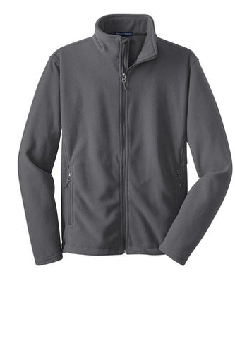 EHSA-HIGH SCHOOL FULL ZIP POLAR FLEECE-IRON GREY