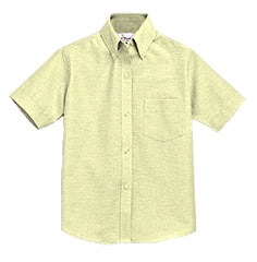 YELLOW  SHORT SLEEVE OXFORD