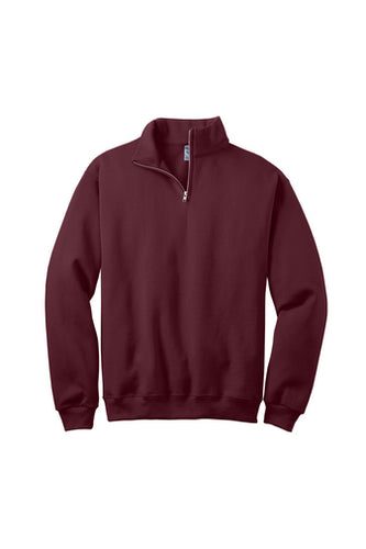 SCHOOL IN THE SQUARE 1/4 ZIP PULLOVER SWEATSHIRT