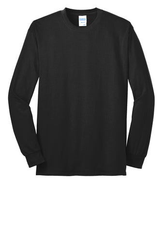 SPIRIT WEAR LONG SLEEVE POLY/COTTON T-SHIRT