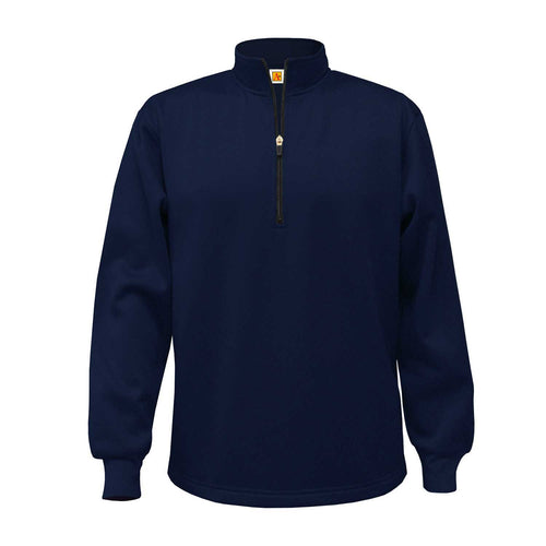 CCHS 1/4 ZIP PULLOVER-NAVY WITH LOGO