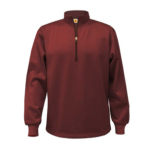 NDBG DRI-FIT 1/4 ZIP with 1 color GOLD EMBROIDERED LOGO