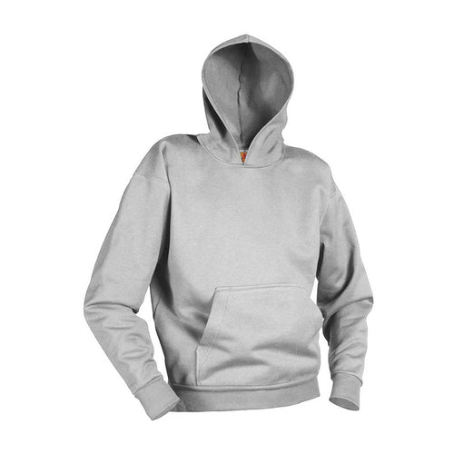 ST. MADELEINE GREY HOODED PULLOVER PE SWEATSHIRT