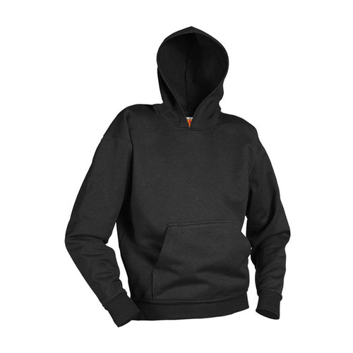 GILROY MIDDLE SCHOOL PULLOVER HOODED SWEATSHIRT-BLACK WITH LOGO (PC90H)