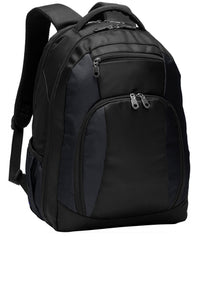 HOLLISTER PREP MIDDLE SCHOOL BLACK BACK PACK WITH LOGO (BG205)