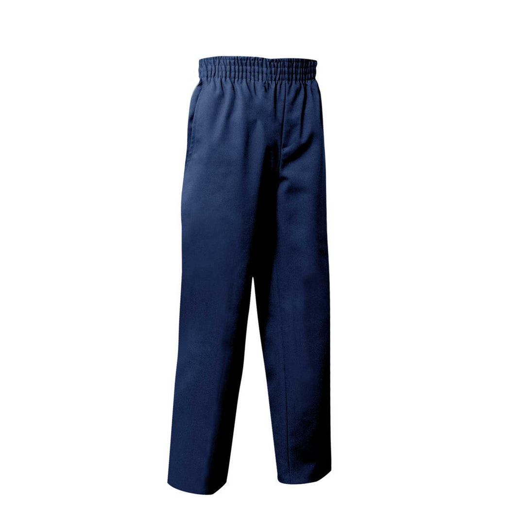 FULL ELASTIC PULL ON PANT NAVY