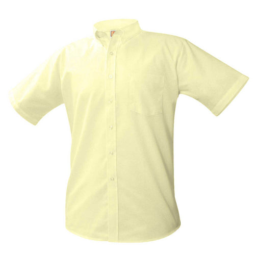 SHORT SLEEVE OXFORDS-YELLOW