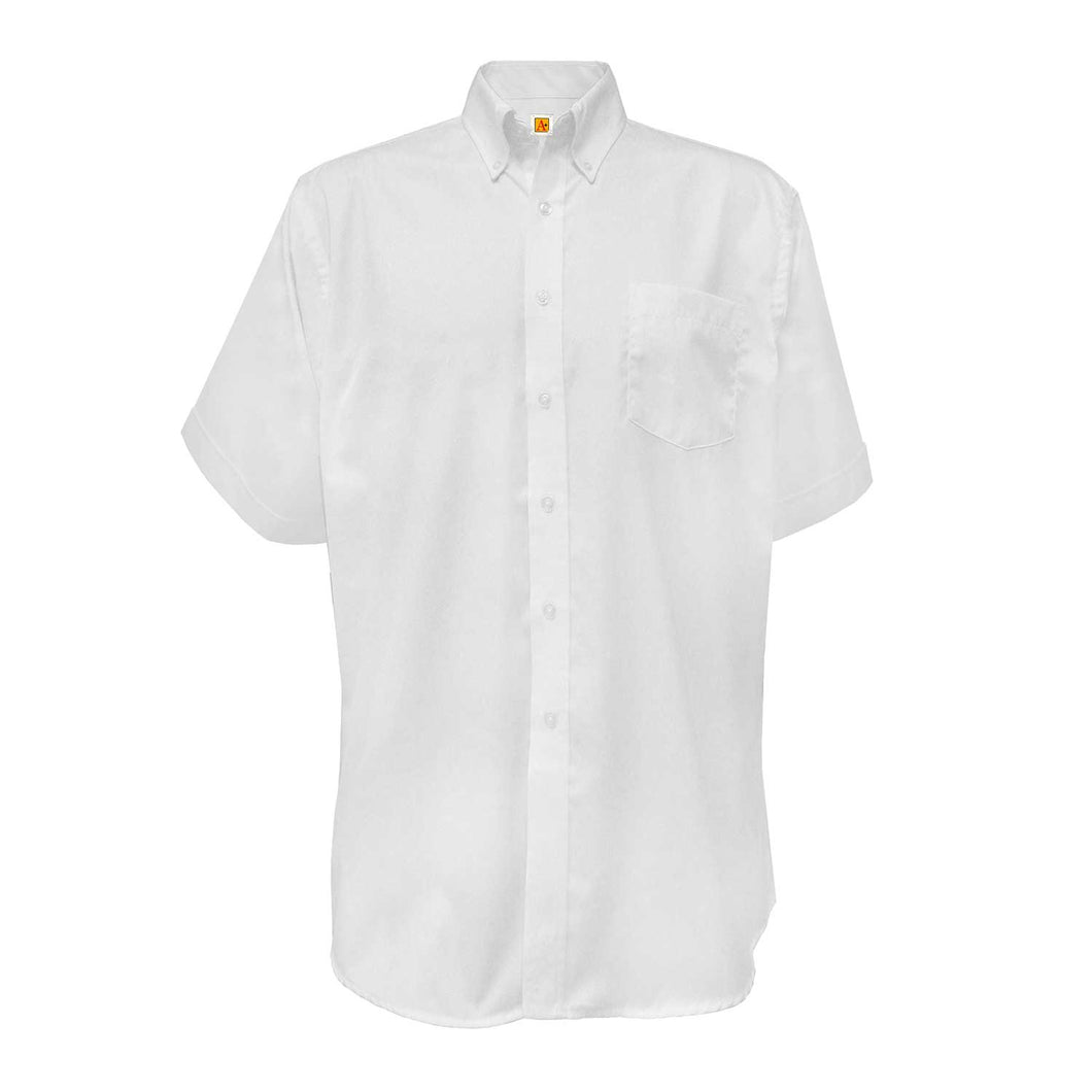 HAVEN MIDDLE SHORT SLEEVE OXFORD SHIRTS-WITH LOGO