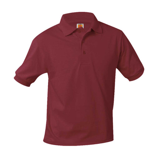 ASCA WINE SHORT SLEEVE POLO SHIRT