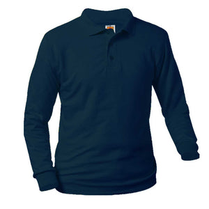 TEP LONG SLEEVE MIDDLE SCHOOL POLO